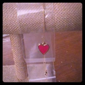 Sophie Harper Red Heart necklace